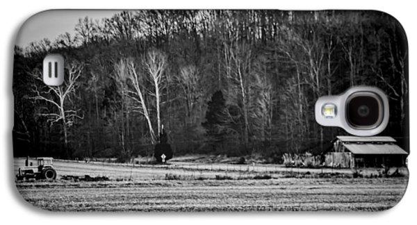 Indiana Scenes Galaxy S4 Cases - Indiana Farm Scene Galaxy S4 Case by Sven Brogren