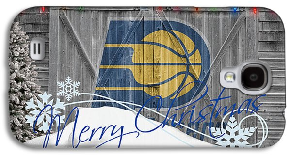 Pacers Galaxy S4 Cases - Indiana Pacers Galaxy S4 Case by Joe Hamilton