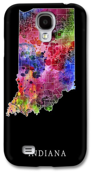 Evansville Galaxy S4 Cases - Indiana State Galaxy S4 Case by Daniel Hagerman