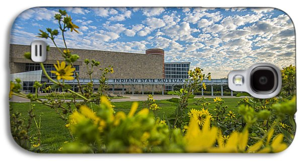 Indiana Flowers Galaxy S4 Cases - Indiana State Museum Bravo Galaxy S4 Case by David Haskett