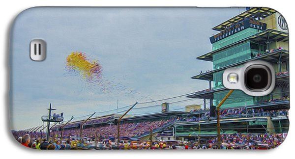 Indiana Scenes Galaxy S4 Cases - Indianapolis 500 May 2013 Balloons Race Start Galaxy S4 Case by David Haskett