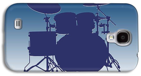 Indianapolis Colts Drum Set Galaxy S4 Case by Joe Hamilton