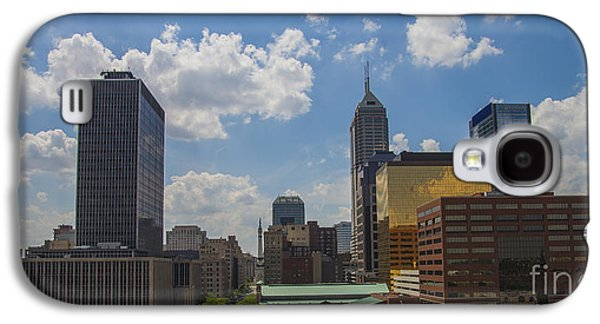 Indiana Landscapes Photographs Galaxy S4 Cases - Indianapolis Indiana East View Galaxy S4 Case by David Haskett