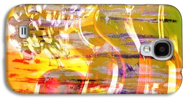 Grapes Art Deco Galaxy S4 Cases - Indulge Galaxy S4 Case by PainterArtist FIN
