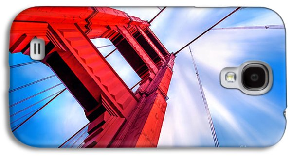 San Francisco Famous Photographers Galaxy S4 Cases - Industrial Boom Galaxy S4 Case by Az Jackson