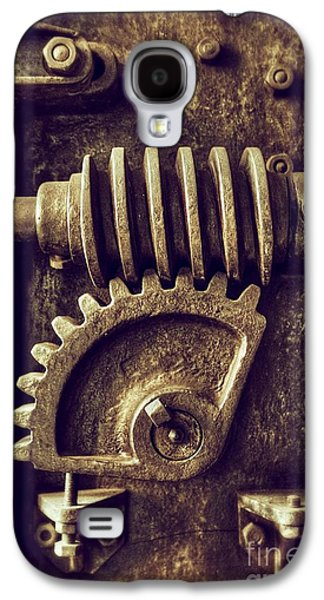 Industrial Sprockets Galaxy S4 Case by Carlos Caetano