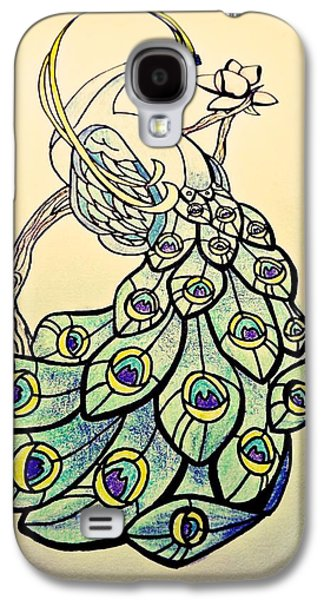 Cherry Blossoms Drawings Galaxy S4 Cases - Infinite Beauty Galaxy S4 Case by Lindsay Wood