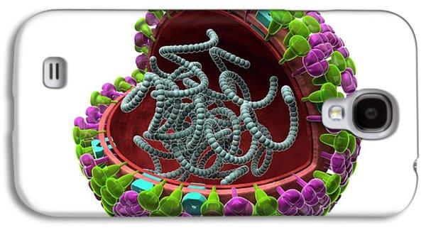 Influenza Virus Structure Galaxy S4 Case by Harvinder Singh