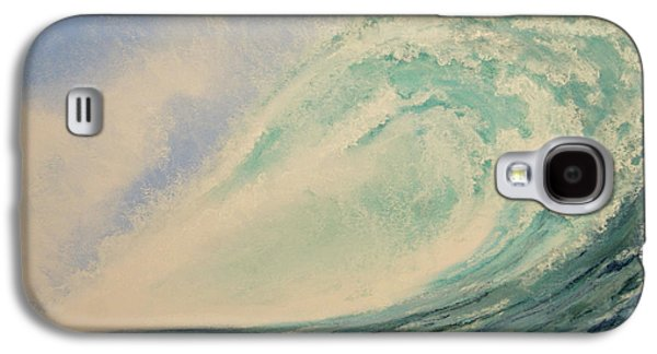 Waterscape Pastels Galaxy S4 Cases - Infused With Stars Galaxy S4 Case by Stanza Widen