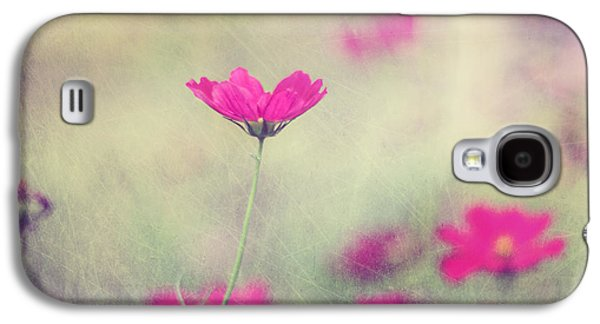 Garden Flowers Galaxy S4 Cases - Ingrids Garden Galaxy S4 Case by Amy Tyler