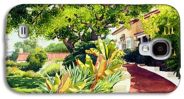 Tiled Galaxy S4 Cases - Inn at Rancho Santa Fe Galaxy S4 Case by Mary Helmreich