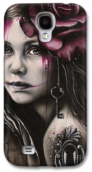 Macabre Galaxy S4 Cases - Inner Child Galaxy S4 Case by Sheena Pike