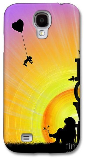 Thoughtful Photographs Galaxy S4 Cases - Inner Child Galaxy S4 Case by Tim Gainey