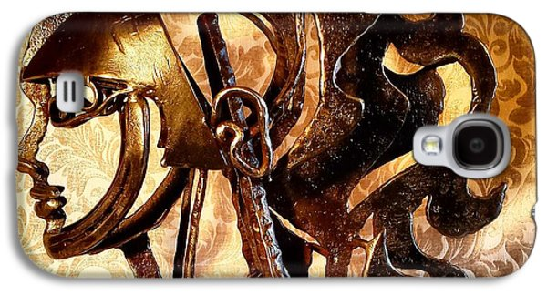 People Sculptures Galaxy S4 Cases - Inner Crown Galaxy S4 Case by Pierre Riche