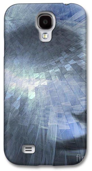 Inner Self Digital Art Galaxy S4 Cases - Inner Dialog  Galaxy S4 Case by Elizabeth McTaggart