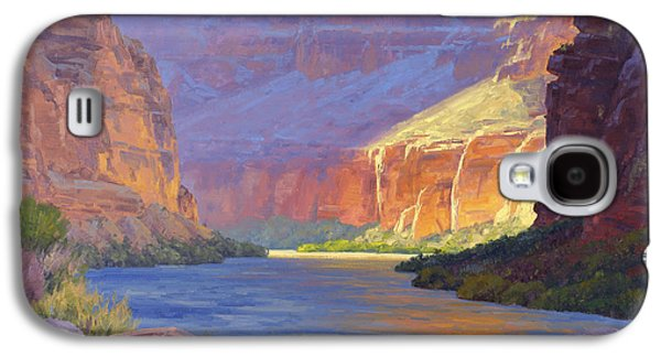 Reflections In River Galaxy S4 Cases - Inner Glow of the Canyon Galaxy S4 Case by Cody DeLong