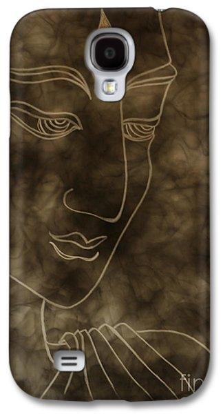 Inner Self Mixed Media Galaxy S4 Cases - Inner Self Peace Galaxy S4 Case by Aixa Rios