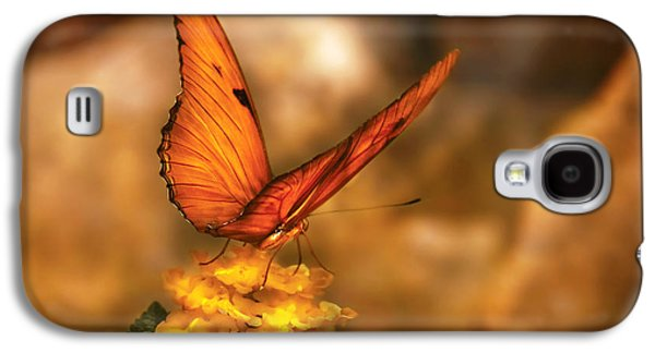 Butterflies Galaxy S4 Cases - Insect - Butterfly - Just a bit of orange  Galaxy S4 Case by Mike Savad