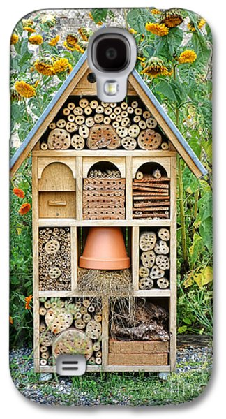 Components Galaxy S4 Cases - Insect Hotel Galaxy S4 Case by Olivier Le Queinec