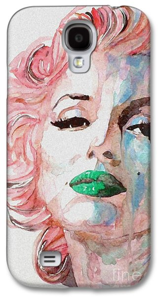 Watercolor Paintings Galaxy S4 Cases - Insecure  Flawed  but Beautiful Galaxy S4 Case by Paul Lovering