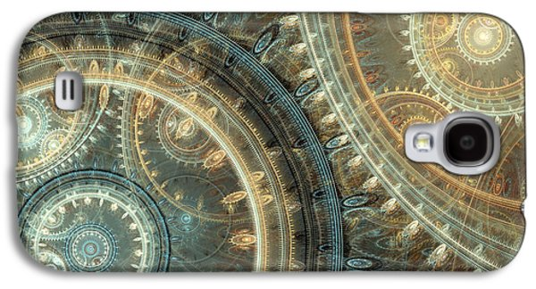 Mechanism Galaxy S4 Cases - Inside the clock Galaxy S4 Case by Martin Capek