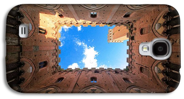 Landscapes Photographs Galaxy S4 Cases - Inside the tower Galaxy S4 Case by Inge Johnsson