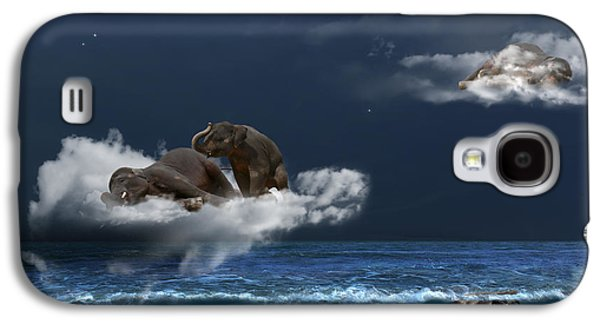 Surreal Landscape Digital Art Galaxy S4 Cases - Insomnia Galaxy S4 Case by Martine Roch