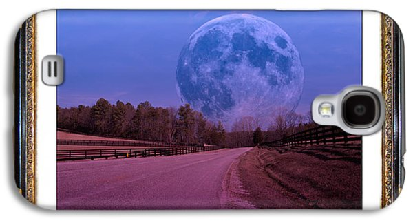 Matting Galaxy S4 Cases - Inspiration in the Night Galaxy S4 Case by Betsy A  Cutler