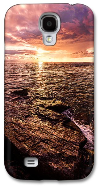 Sun Rays Galaxy S4 Cases - Inspiration Key Galaxy S4 Case by Chad Dutson