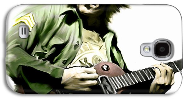 Beatles Galaxy S4 Cases - Instant Karma  John Lennon Galaxy S4 Case by Iconic Images Art Gallery David Pucciarelli