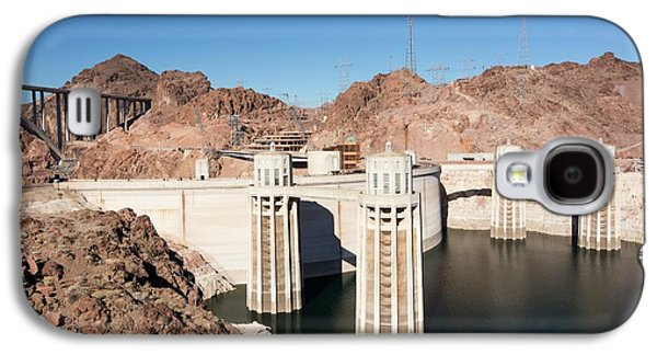 Intake Towers For The Hoover Dam Galaxy S4 Case by Ashley Cooper
