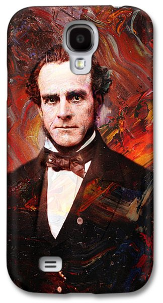 Historical Figures Galaxy S4 Cases - Intense Fellow 2 Galaxy S4 Case by James W Johnson