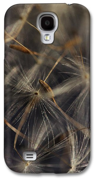 Intergalactic Space Galaxy S4 Cases - Intergalactic Travelers - Dandelion Seeds Galaxy S4 Case by Connie Handscomb