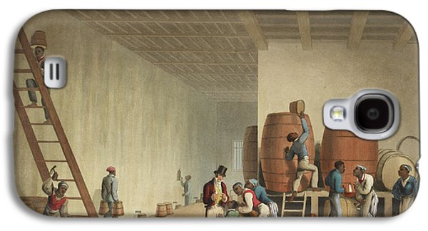Interior Of Distillery Galaxy S4 Case by British Library