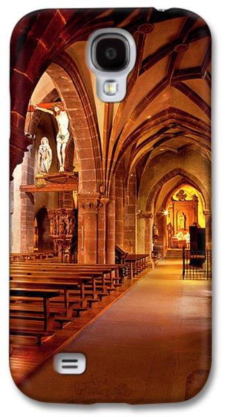 Interior Of Sainte Croix Church Galaxy S4 Case by Brian Jannsen
