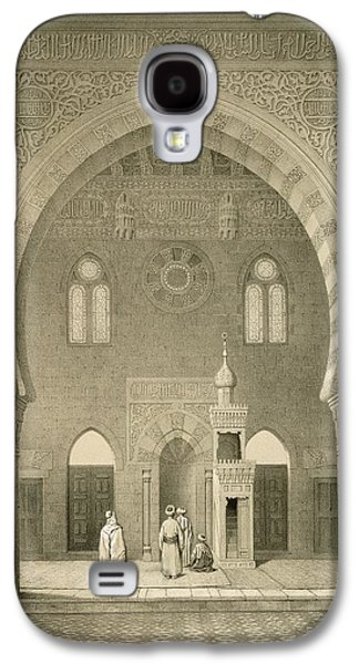 Interior Of The Mosque Of Qaitbay, Cairo Galaxy S4 Case by French School