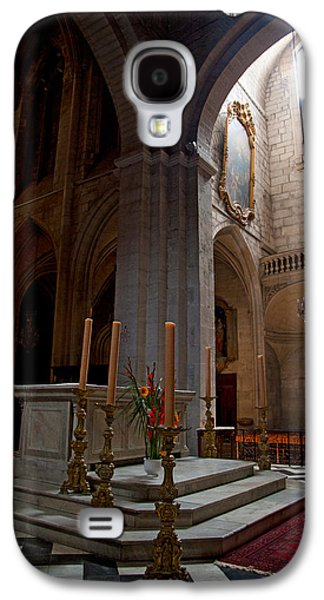 Arles Galaxy S4 Cases - Interiors Of The Church Of St Galaxy S4 Case by Panoramic Images