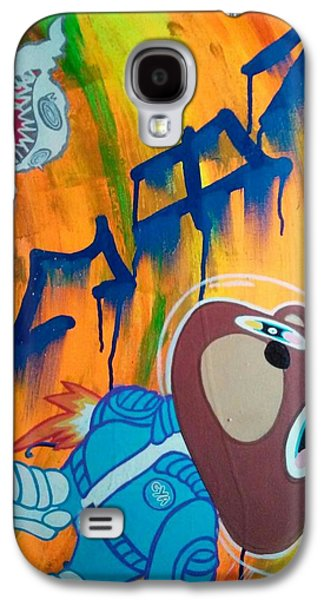 Kanye West Paintings Galaxy S4 Cases - Intersteller Galaxy S4 Case by Kevin Santos