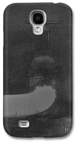 Industrial Drawings Galaxy S4 Cases - Intimate Portrait Galaxy S4 Case by Anthony Jedvabny