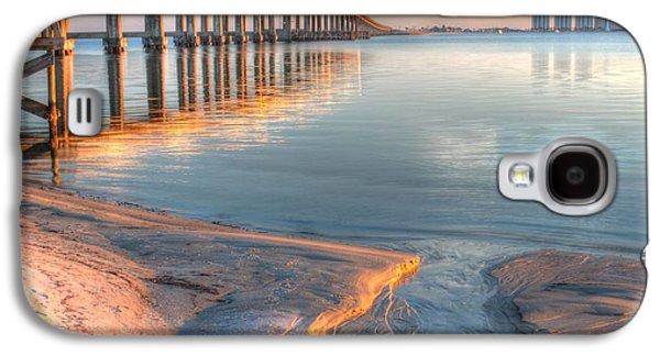 Florida Panhandle Galaxy S4 Cases - Into Santa Rosa Sound Galaxy S4 Case by JC Findley