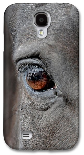 Horse Images Galaxy S4 Cases - Into the Deep Galaxy S4 Case by Renee Forth-Fukumoto