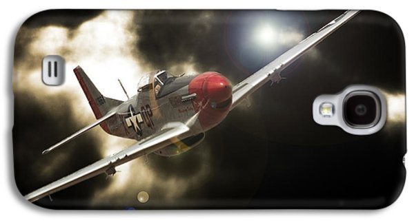 P51 Photographs Galaxy S4 Cases - Into the Light II Galaxy S4 Case by Paul Job