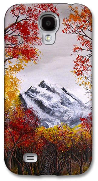 Erik Coryell Galaxy S4 Cases - Into The Mountains Galaxy S4 Case by Erik Coryell