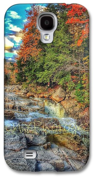John Adams Galaxy S4 Cases - Waterfall Galaxy S4 Case by John Adams