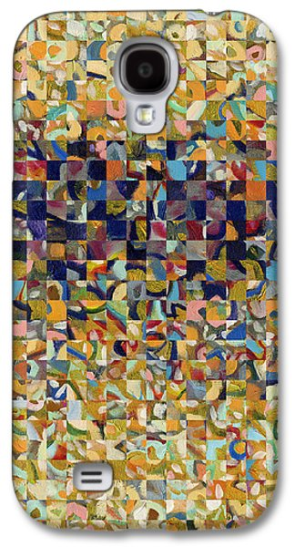 Abstract Digital Galaxy S4 Cases - Into the Rubble We Walk Galaxy S4 Case by Jennifer Lommers