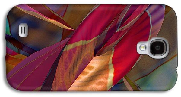 Abstract Digital Galaxy S4 Cases - Into The Soul Galaxy S4 Case by Deborah Benoit