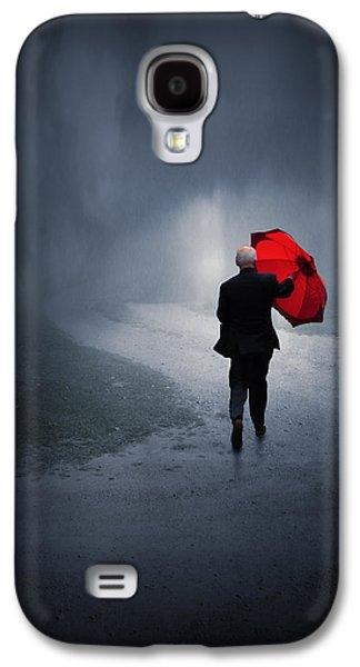 Storm Digital Art Galaxy S4 Cases - Into the Storm Galaxy S4 Case by Jennifer Woodward