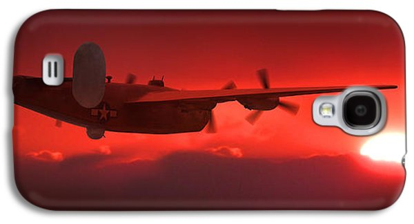 Warbird Galaxy S4 Cases - Into the Sun Galaxy S4 Case by Mike McGlothlen