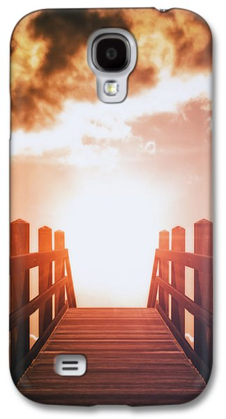 Sun Galaxy S4 Cases - Into The Sun Galaxy S4 Case by Wim Lanclus