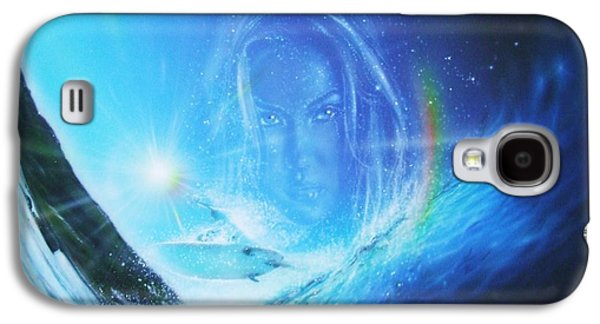 Sunset Prints Galaxy S4 Cases - Into the Void Galaxy S4 Case by Christian Chapman Art